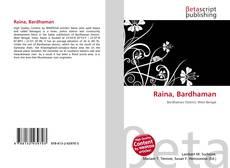 Buchcover von Raina, Bardhaman