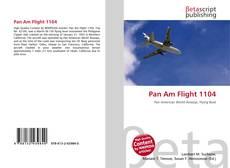 Bookcover of Pan Am Flight 1104