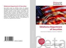 Portada del libro de Oklahoma Department of Securities