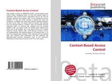 Обложка Context-Based Access Control