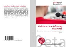 Buchcover von Volksfront zur Befreiung Palästinas