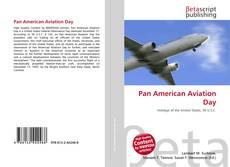 Portada del libro de Pan American Aviation Day