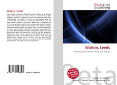 Bookcover of Walton, Leeds