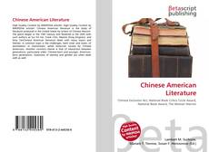 Bookcover of Chinese American Literature