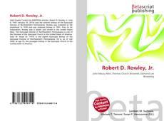 Robert D. Rowley, Jr. kitap kapağı