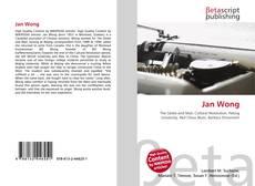 Capa do livro de Jan Wong