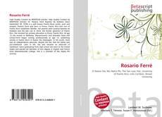 Bookcover of Rosario Ferré
