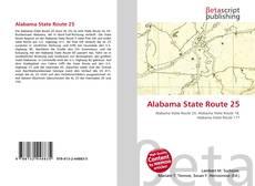 Alabama State Route 25 kitap kapağı