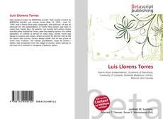 Bookcover of Luis Llorens Torres