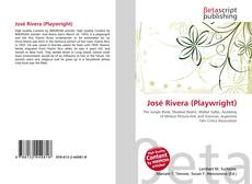 Bookcover of José Rivera (Playwright)