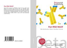 Couverture de Pan RNA Motif