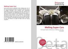 Capa do livro de Melling Super Cars