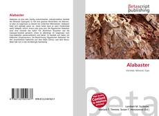 Couverture de Alabaster