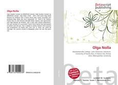 Olga Nolla的封面