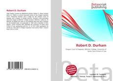Buchcover von Robert D. Durham