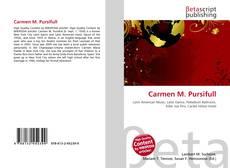 Portada del libro de Carmen M. Pursifull