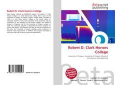 Robert D. Clark Honors College的封面