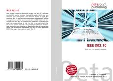 Bookcover of IEEE 802.10