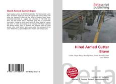 Hired Armed Cutter Brave kitap kapağı