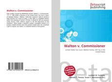 Portada del libro de Walton v. Commissioner