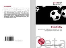 Capa do livro de Boss Bailey