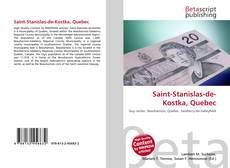 Bookcover of Saint-Stanislas-de-Kostka, Quebec