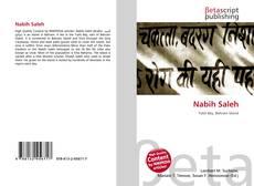 Bookcover of Nabih Saleh