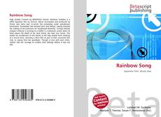 Bookcover of Rainbow Song