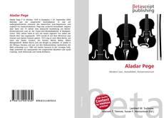 Bookcover of Aladar Pege