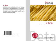 Bookcover of al dente