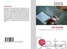 Bookcover of Ala Khallidi