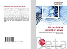 Bookcover of Microsoft Host Integration Server