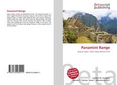 Bookcover of Panamint Range