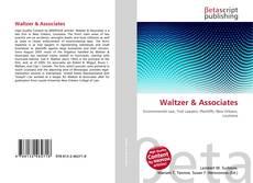 Buchcover von Waltzer & Associates