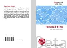Bookcover of Raincloud (Song)