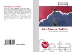 Bookcover of Saint-Sylvestre, Ardèche