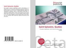 Bookcover of Saint-Sylvestre, Quebec