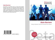 Bookcover of Alain Barriere