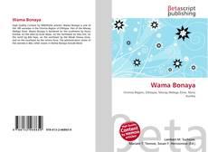 Portada del libro de Wama Bonaya