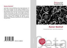 Bookcover of Rainer Bonhof