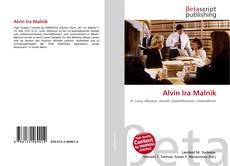 Bookcover of Alvin Ira Malnik