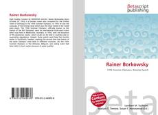Bookcover of Rainer Borkowsky