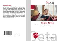 Bookcover of Helene Böhlau