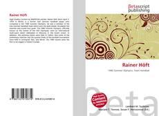 Bookcover of Rainer Höft