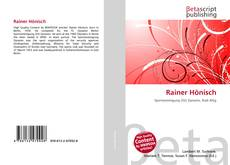 Bookcover of Rainer Hönisch