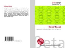 Bookcover of Rainer Island