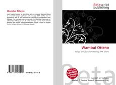 Bookcover of Wambui Otieno