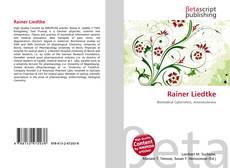 Bookcover of Rainer Liedtke