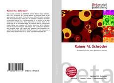 Portada del libro de Rainer M. Schröder