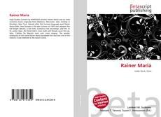 Bookcover of Rainer Maria